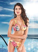 Gyönyörű, virág mintás bikini