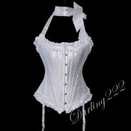 Szuper, alakformáló fehér fűző - corset