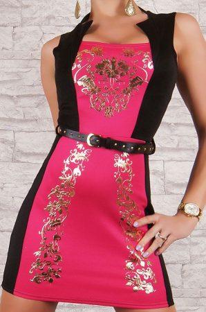 Szexy mini ruha övvel
