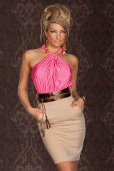 Pink business ruha övvel