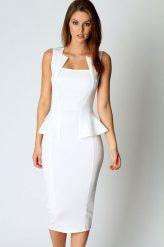 Elegáns, fehér biznisz ruha