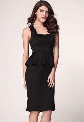 Elegáns, fekete biznisz ruha